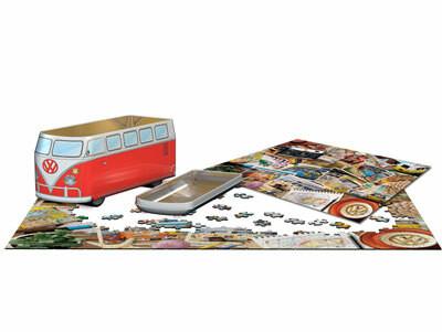 Eurographics VW Road Trips Tin Box-palapeli