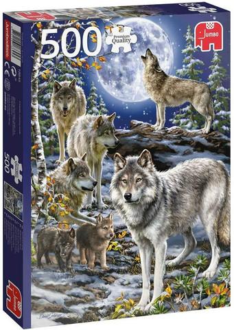 Jumbo Wolf Pack in Winter