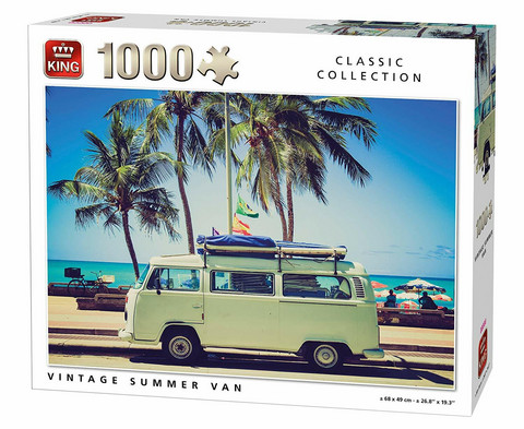 King Vintage Summer Van-palapeli