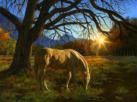 Sunsout Karla Mann-Pastoral Sunset-palapeli