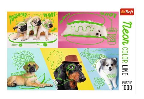 Trefl Far out dogs-palapeli