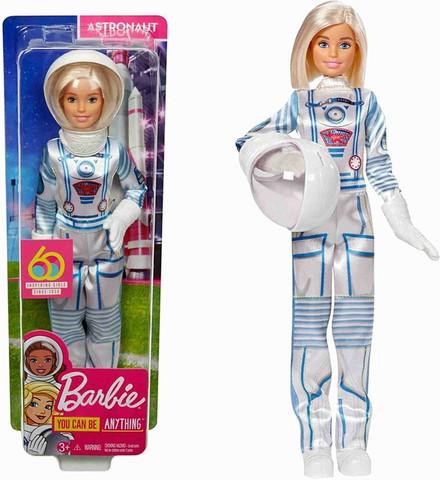 Barbie 60 v.  Juhlanukke Astronauttina