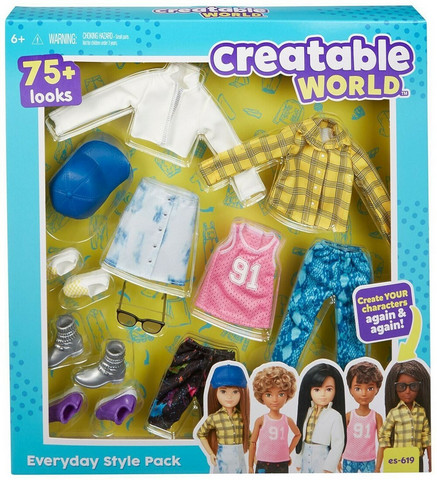 Creatable World nuken vaatteet