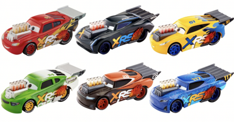 Disney Cars Drag Racing Cars