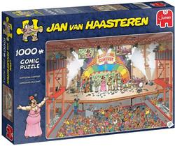 Jan Van haasteren Euroviisut 1000 palaa