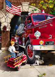 Master Pieces Firehouse Dreams palapeli