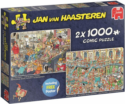 Jan Van Haasteren Happy Holidays