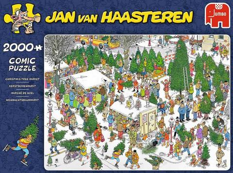 Jan Van Haasteren The Christmas Tree Market