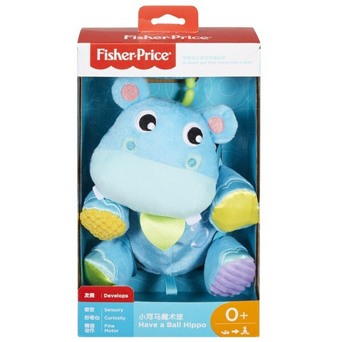 Fisher-Price Activity Hippo pehmovirtahepo