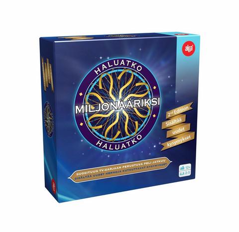 Haluatko Miljonääriksi 2ND Edition -lautapeli