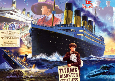 Bluebird Titanic palapeli