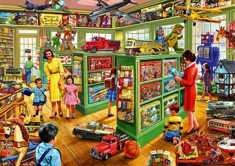 Bluebird Toy Shop Interiors palapeli