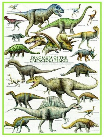 Eurographics Dinosaurus palapeli