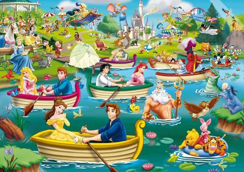 King Disney Fun on The Water palapeli