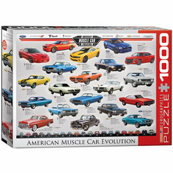 Eurographics Muscle Car Evolution palapeli
