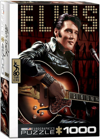 Eurographics Elvis Presley palapeli