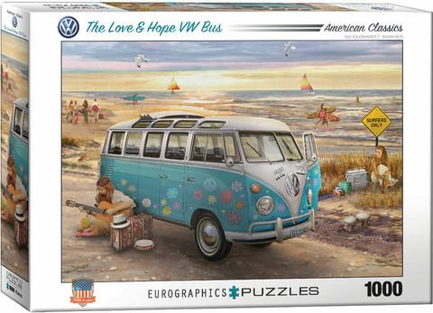 EurographicsThe Love&Hope VW Bus palapeli