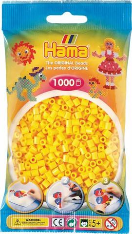 Hama pussi 1000 keltainen