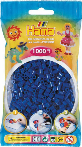 Hama pussi 1000 sininen