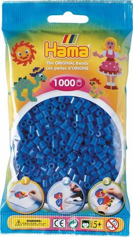 Hama pussi 1000 vaalean sininen