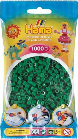 Hama pussi 1000 vihreä