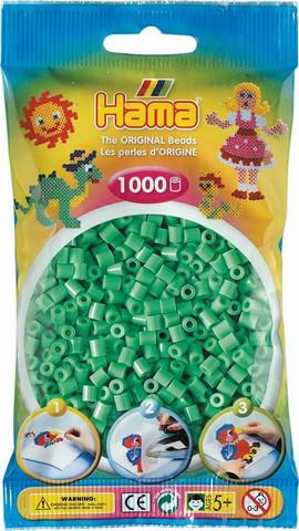 Hama pussi 1000 vaaleanvihreä
