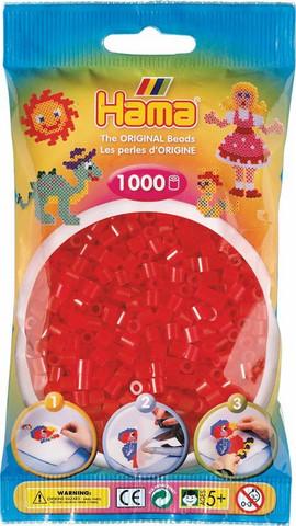Hama pussi 1000 kuultava punainen