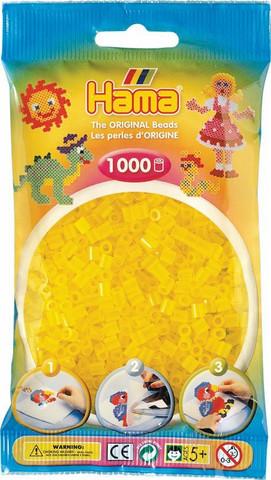 Hama pussi 1000 kuultava keltainen