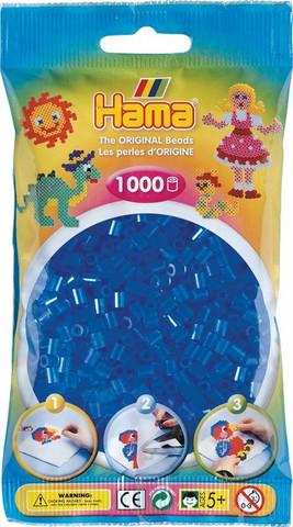 Hama pussi 1000 kuultava sininen