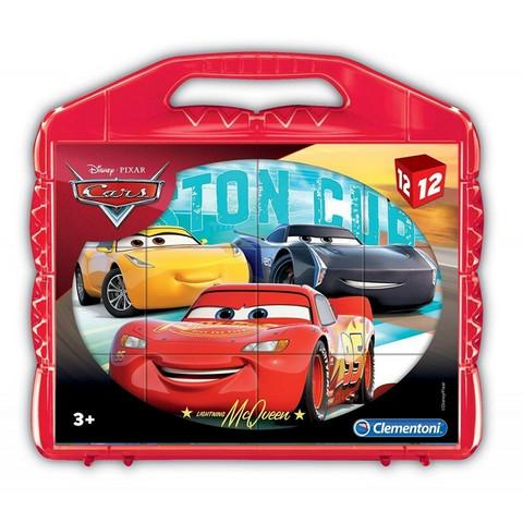 Clementoni Disney Pixar Cars 3 Kuutiopalapeli 12 osaa