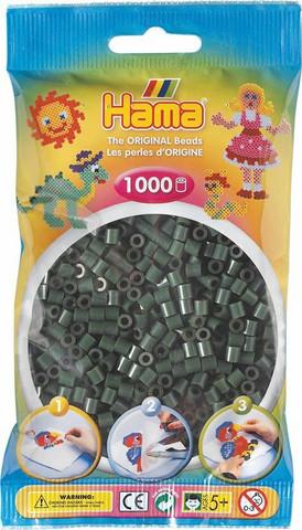 Hama pussi 1000 tumma vihreä