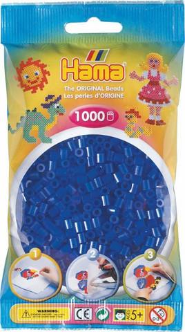 Hama pussi 1000 sininen neon