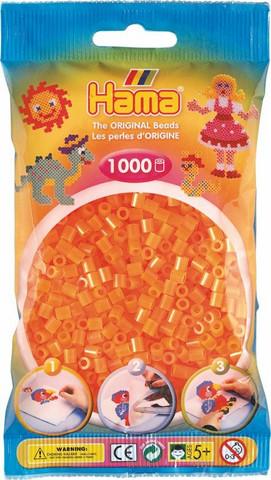Hama pussi 1000 oranssi neon
