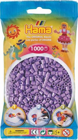 Hama pussi 1000 pastellin lila
