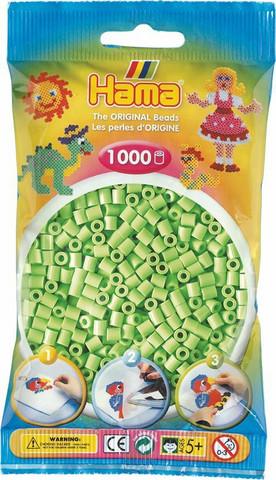 Hama pussi 1000 pastellin vihreä