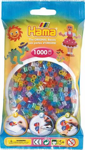 Hama pussi 1000 glitter mix