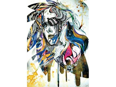 Art Puzzle Blues palapeli