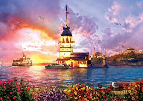 Art Puzzle Maiden´s Tower palapeli