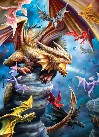 Eurographics Anne Stokes-Dragon Clan palapeli