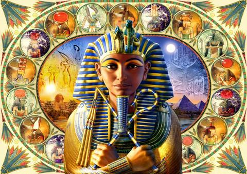 Bluebird Tutankhamun palapeli