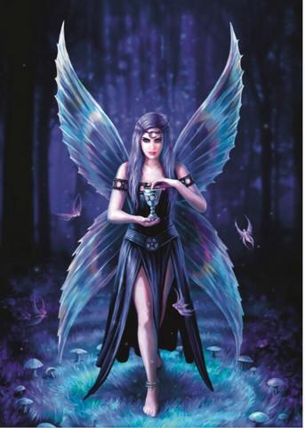 Bluebird Anne Stokes-Enchantment palapeli
