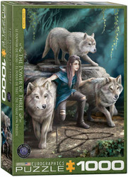 Eurographics Anne Stokes-Wolves Family