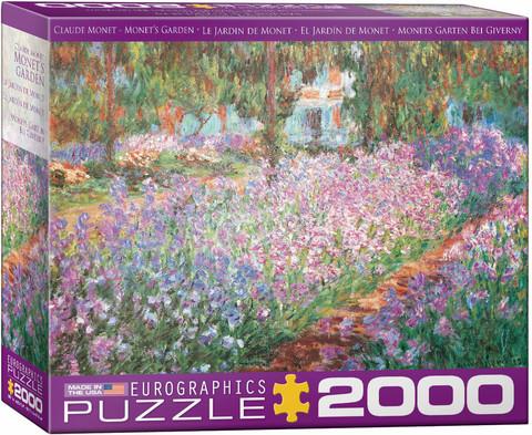 Eurographics Claude Monet-The Artist´s Garden