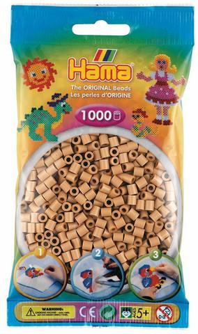Hama pussi 1000 keltaruskea