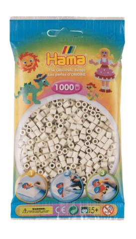 Hama pussi 1000 luonnonvalkoinen