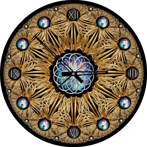 Art Puzzle Palapeli-kello Golden