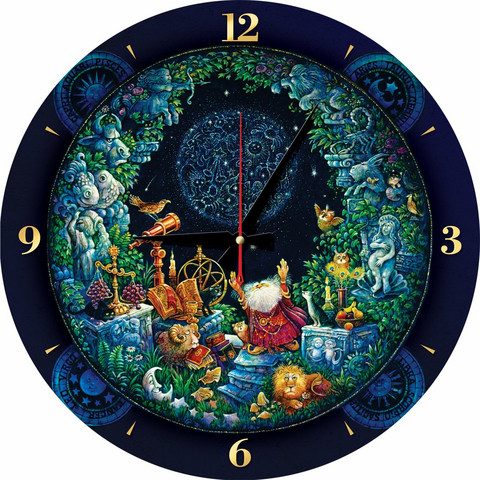 Art Puzzle Palapeli-kello Astrology