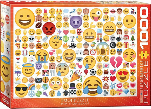 Eurographics Emotipuzzle-What´s your Mood