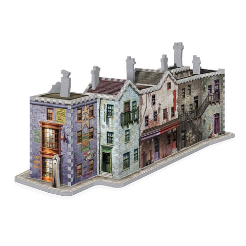 Wrebbit Harry Potter Diagon Alley -palapeli 3D