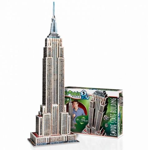 Wrebbit New York Empire State Building 3 D palapeli